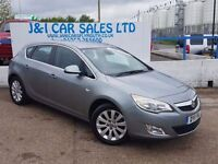VAUXHALL ASTRA 2.0 ELITE CDTI 5d AUTO 157 BHP A GREAT EXAMPLE INS (silver) 2011