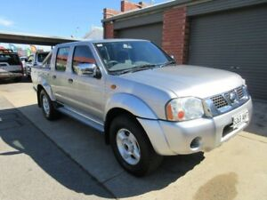 2006 Nissan Navara D22 ST-R (4x4) Silver 5 Speed Manual Dual Cab Pick-up Gilles Plains Port Adelaide Area Preview