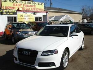2011 AUDI A4 TURBO AWD FULL LOADED 85K-100% APPROVED FINANCING!