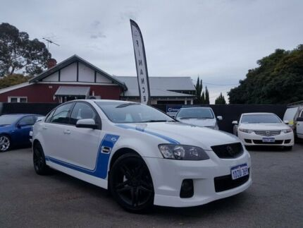 2012 Holden Commodore VE II MY12.5 SV6 White & Blue 6 Speed Automatic Sedan Mount Hawthorn Vincent Area Preview
