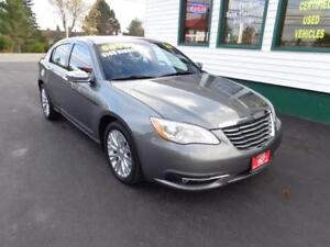 2012 Chrysler 200 Limited for only $101 bi-weekly all in!