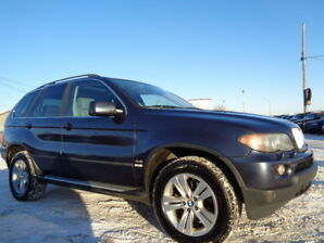 2005 BMW X5 GOLD EDITION-AWD-LEARTER-SUNROOF-4.4L V8-CLEAN
