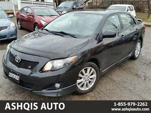 2010 Toyota Corolla S One Owner No accident service history avai