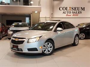 2014 Chevrolet Cruze LT-AUTO-REAR CAM-SUNROOF-ONLY 21KM