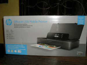 Office Jet 200 Mobile Printer HP