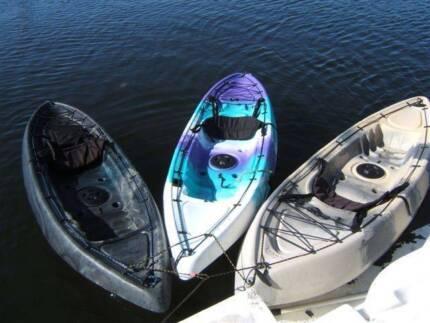 KAYAK HIRE. For .... River, Ocean, Surf, Fish, Camp or Dive.