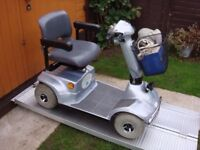 Any Terrain 18 Stone Capacity Infinity Mobility Scooter Portable Adjustable With Charger Only £290