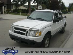 2004 Ford Sport Trac 4x4 LEATHER-SUNROOF! CLEAN!