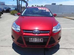 2013 Ford Focus LW MKII Trend PwrShift Candy Red 6 Speed Sports Automatic Dual Clutch Hatchback