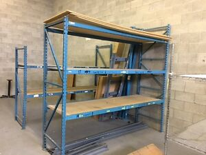 Racking, rolling racks, desks, cabinets and more West Island Greater Montréal image 1