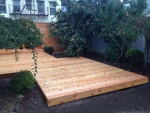 We build a deck for $1250 (10x10) or any size - limited time