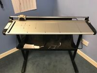 A1 precision trimmer cutter paper card with stand and catching tray - Excellent condition