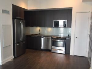 Beautiful Condo with PARKING + locker Lakeshore Available july 1