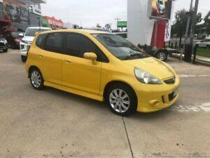 2004 Honda Jazz GD VTi-S Yellow 7 Speed Constant Variable Hatchback