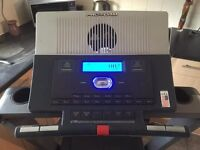 Fully working treadmill with lots of different features