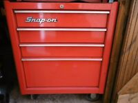Snap on 4 draw tool trolley
