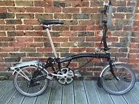 Brompton P39 Folding Bike