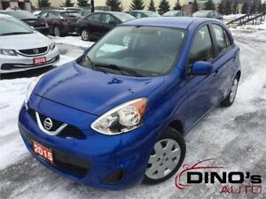 2015 Nissan Micra SV | $44 Weekly $0 Down *OAC / WOW Low Mileage