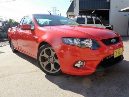 2009 Ford Falcon FG XR6T 6 Speed Manual Utility North St Marys Penrith Area Preview