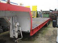 King TS35/3 Tri-Axle Semi Low Loader