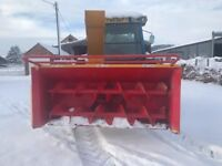 PTO Driven Bunce MU-230 Snowblower