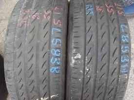 215 35 18 Pirelli,P Zero Nero,ZR, x2 A Pair,6.0mm (152-156 Rayne Road,CM7 2QS)