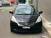 2009 Honda Jazz GE MY09 GLi Black Automatic Hatchback Auburn Auburn Area Preview