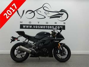 2017 Yamaha YZF-R6- Stock#V2664- No Payments for 1 Year**