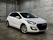 2014 Hyundai i30 GD2 Active White 6 Speed Sports Automatic Hatchback Mile End South West Torrens Area Preview