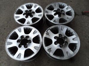 4 16 inch Alloy Rims for Nissan Pathfinder