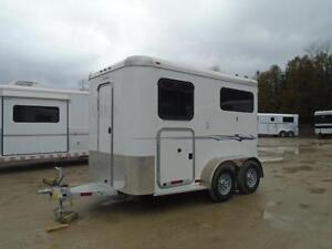 2017 Adam 2 Horse Straight Load Horse Trailer - On Order