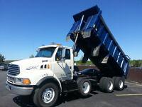 2000 Sterling Actera  Tri Axle Dump Truck