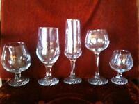 Vintage '88 Winter Olympic Petro Canada Glassware