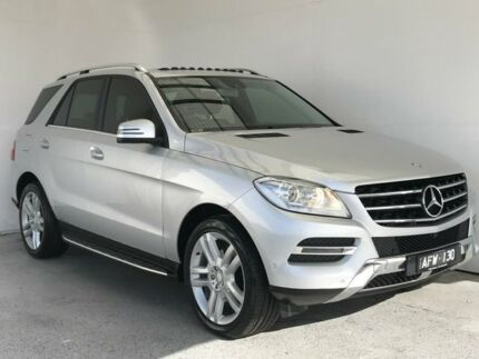 2015 Mercedes-Benz M-Class W166 MY805 ML250 BlueTEC 7G-Tronic + Silver 7 Speed Sports Automatic Mount Gambier Grant Area Preview