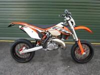 KTM 125 EXC 2014 EXC ENDURO ROAD REGISTERED SUPERMOTO BIKE @ RPM OFFROAD