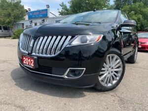 2012 Lincoln MKX AWD 4dr w/ Leather, Navigation, Sunroof & Camer