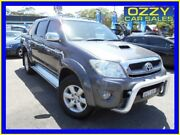 2011 Toyota Hilux KUN26R MY11 Upgrade SR5 (4x4) Grey 4 Speed Automatic Dual Cab Pickup Penrith Penrith Area Preview