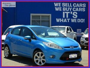 2010 Ford Fiesta WS Zetec Blue 4 Speed Automatic Hatchback Welshpool Canning Area Preview