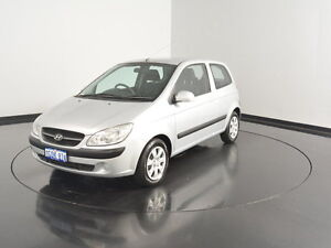 2010 Hyundai Getz TB MY09 S Space Silver 5 Speed Manual Hatchback Victoria Park Victoria Park Area Preview