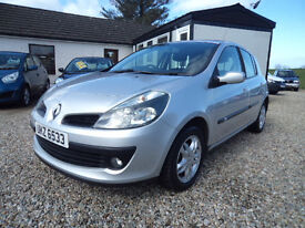 2007 Renault Clio Dynamique 5 Door ** FULL MOT - MOT'D to 13/4/18**