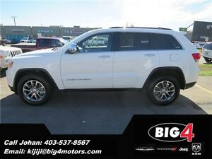 2014 Jeep Grand Cherokee Limited, Sunroof, BT, BU Cam