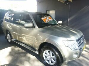 2010 Mitsubishi Pajero NT MY10 GLS Gold 5 Speed Sports Automatic Wagon Merrylands Parramatta Area Preview