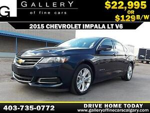 2015 Chevrolet Impala 2LT $129 bi-weekly APPLY TODAY DRIVE TODAY