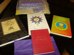 Numerous spiritual occult books, Crowley and more Kingston Kingston Area image 10