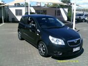 2009 Holden Barina TK MY10 Black 5 Speed Manual Hatchback Coopers Plains Brisbane South West Preview