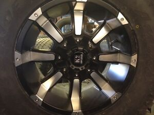 5 Atturo Trail Blades and 4 Off Road K-2 Rims