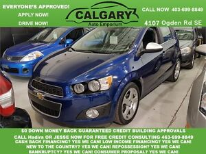 2012 Chevrolet Sonic LT   *$99 DOWN EVERYONE APPROVED*