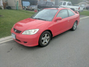 2005 Honda Civic Coupe (2 door) MVI for 2 years