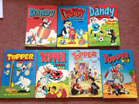 Dandy and Topper Annuals