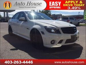 2010 Mercedes-Benz C63 AMG NAVI, ROOF, PUSH START 90 DAY NO PYMT